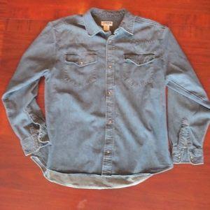 Men's XL denim shirt